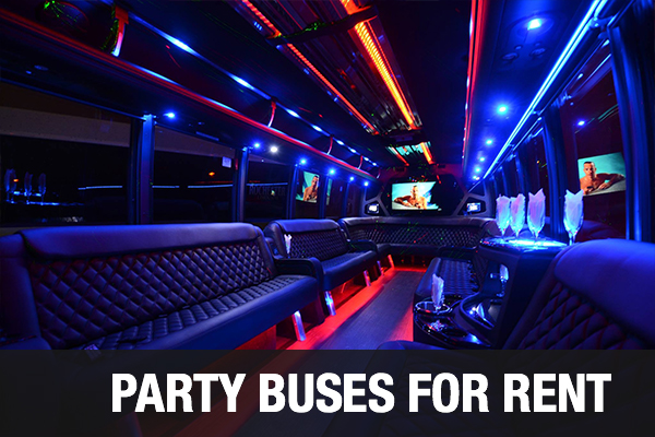 Party Buses For Rent Anaheim